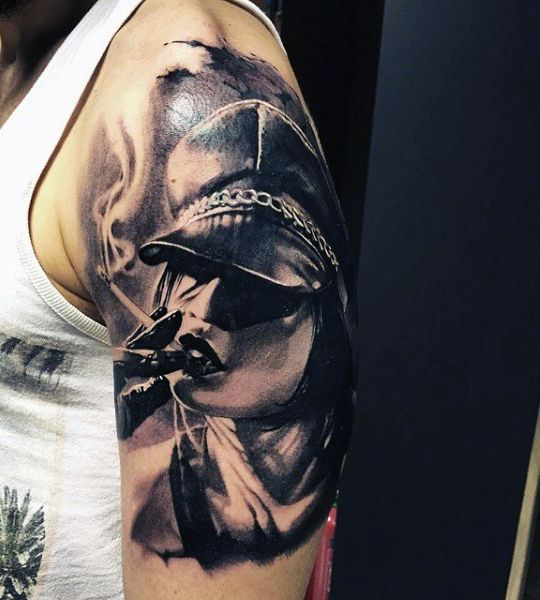 smoke tattoo pictures - 540×600