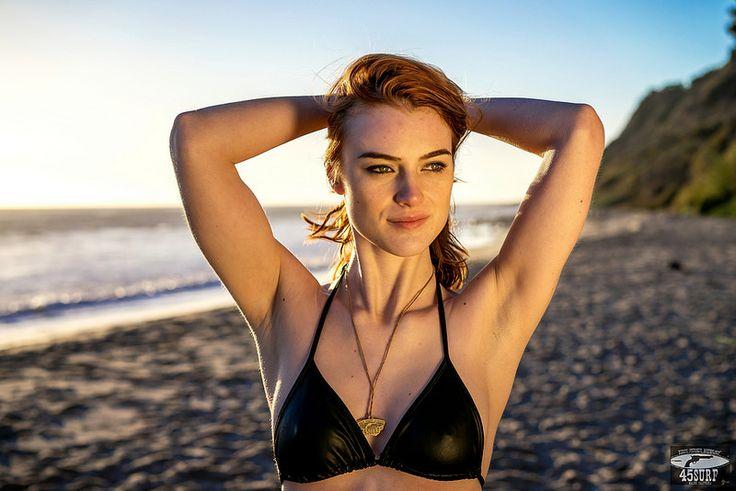 Sony A7 R RAW Photos Pretty Redhead Bikini Swimsuit Model Goddess! Carl Zeiss Sony FE 55mm F1.8 ZA Sonnar T* Lens! Lightroom 5.3 Rocks!