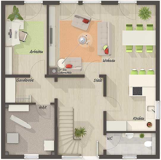 The City Villa 145 – Floor Plan Ground Floor – Your Town & Country …