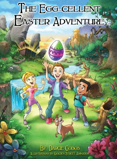 Egglo Eggs is an exciting Easter activity to make Easter egg hunts meaningful. The Egg-cellent Easter Adventure book and glow-in-the-dark Egglo Eggs are an interactive way to teach children about the light of Jesus. EggloEggs.com #Easter