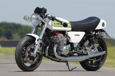 Kawasaki H2b in classic Denco colours
