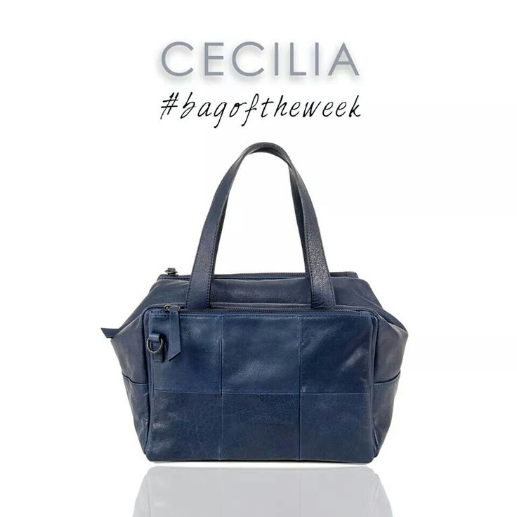CECILIA blue/indigo Bag of the Week. Special bag/ Special Price 15% off!  Enjoy and Shop it at www.desireelupi.com  Don't miss the Temporary Promo!  #Bags #fashion #women #moda #borse #donna #madeinitaly