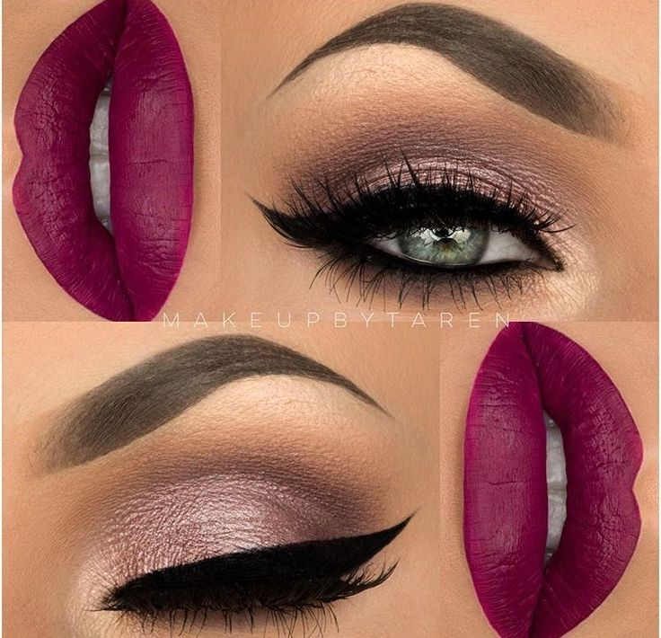 S T U N N I N G  @makeupbytaren  #cateye #perfectbrows #eyeliner