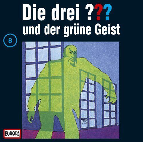 """Die drei Fragezeichen 8: Der grüne Geist (German audio drama based on """"The Three Detectives"""")"""