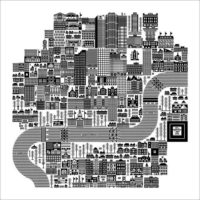 misc. CITY PRINTS - Raymond Biesinger Illustration Inc.