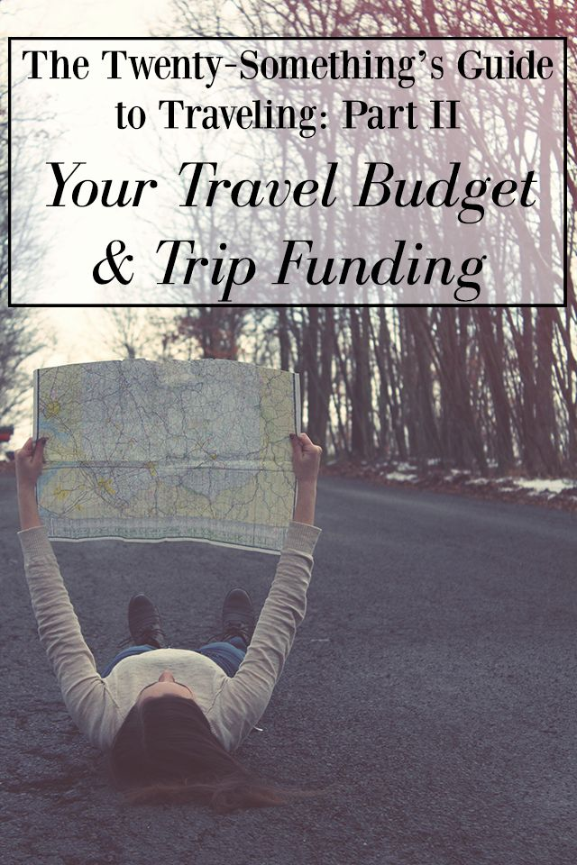 The Twenty-Something's Guide to Traveling > The best tips to budget for and afford the trip of your dreams