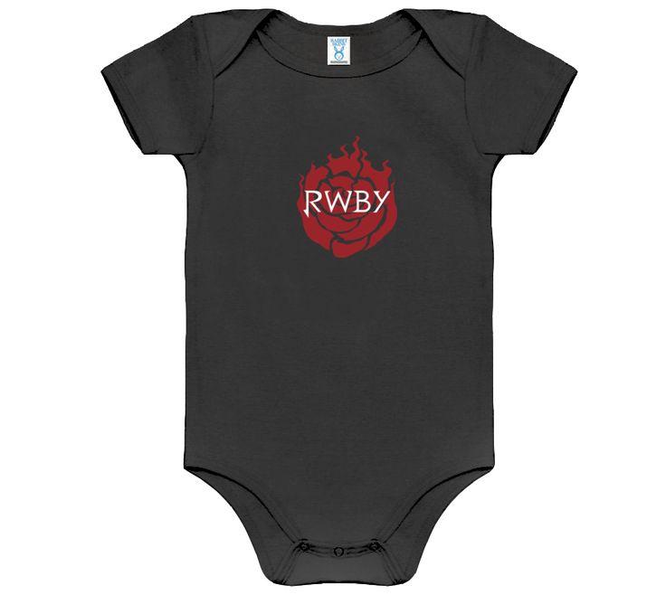 RWBY Logo Baby Onesie ($18.95)