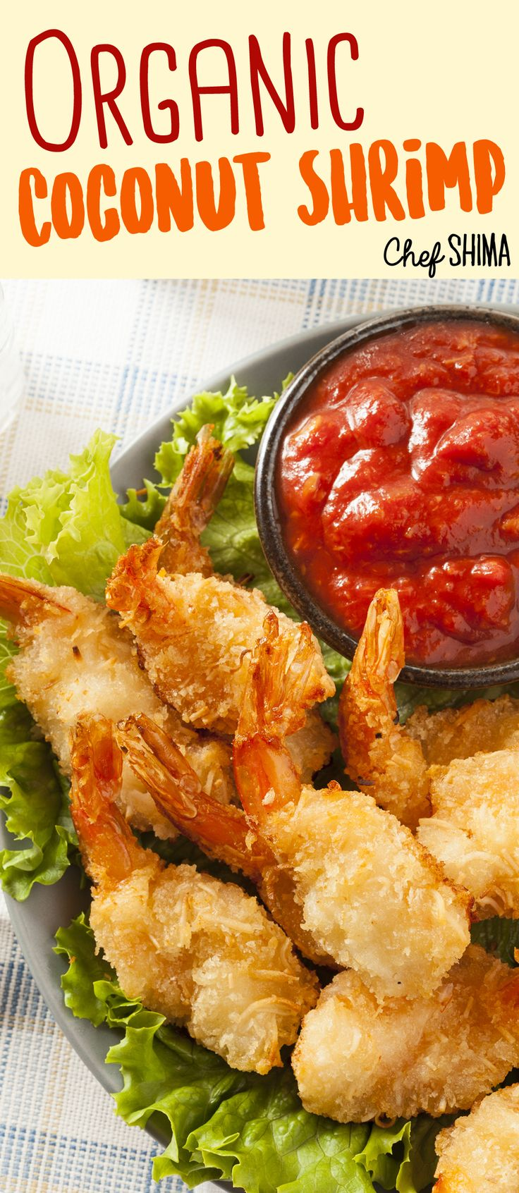 Organic Coconut Shrimp | Healthy and delicious Coconut Shrimp... MMM YUMMY!