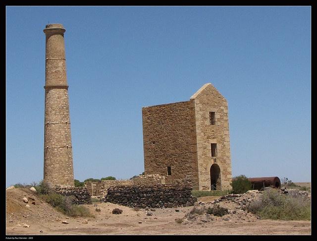 Moonta copper mine