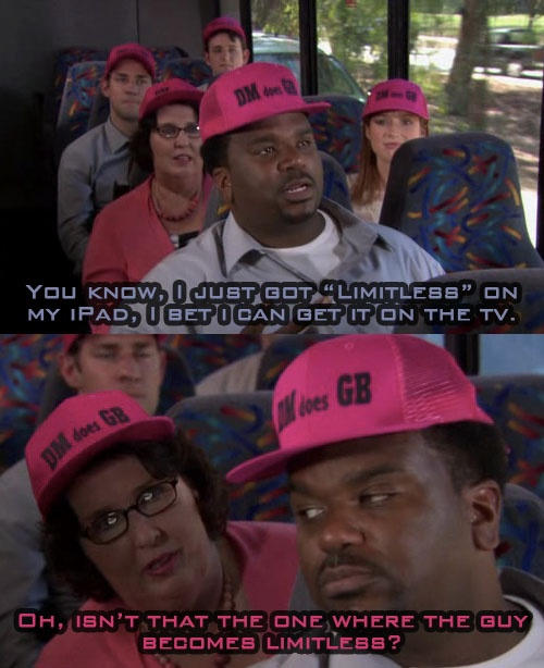 Darryl Philbin Warehouse The Office Craig Robinson