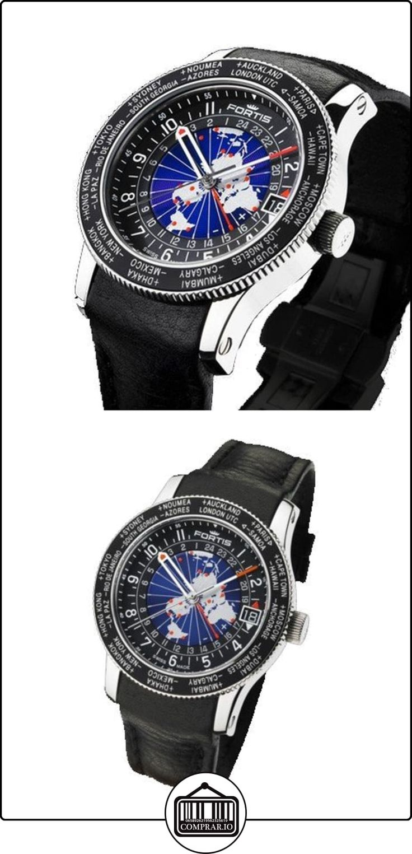 Fortis reloj hombre Aviation B-47 World Timer GMT Limited Edition automática 674.21.11 L01  ✿ Relojes para hombre - (Lujo) ✿