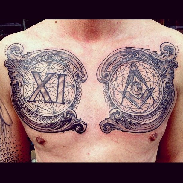 1363 Best Chest Tattoos Images On Pinterest: 382 Best Chest Piece Tattoos Images On Pinterest