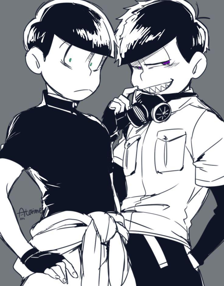 Osomatsu-san - Choromatsu & Ichimatsu
