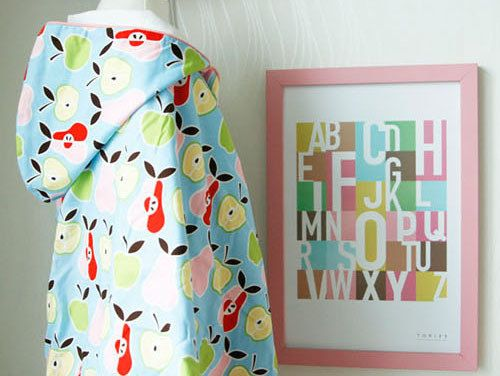 Henrry Apple Hoodie Coat.rain suit blanket by Toriee. by gainstory, $119.00