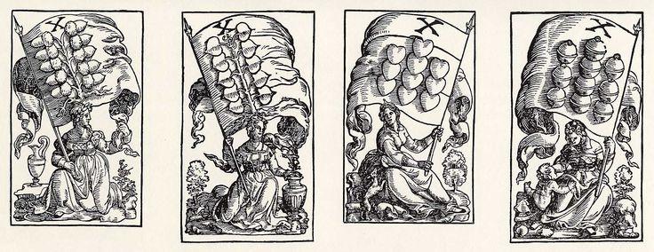 Artist: Flötner, Peter, Title: »Kartenspiel«, Zehner, Date: ca. 1535