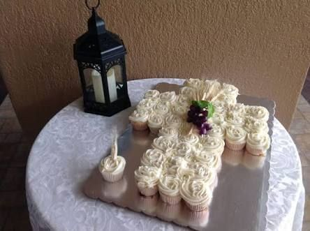 pasteles de primera comunion en forma de cruz - Buscar con Google