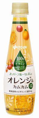 ビタミンフルーツ オレンジ&カムカムMix PET 340g