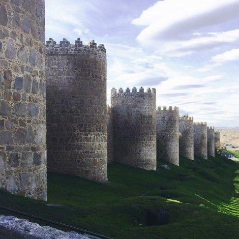 muralla+avila+españa
