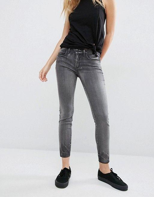 BLANK NYC | Узкие джинсы с необработанным краем Blank NYC