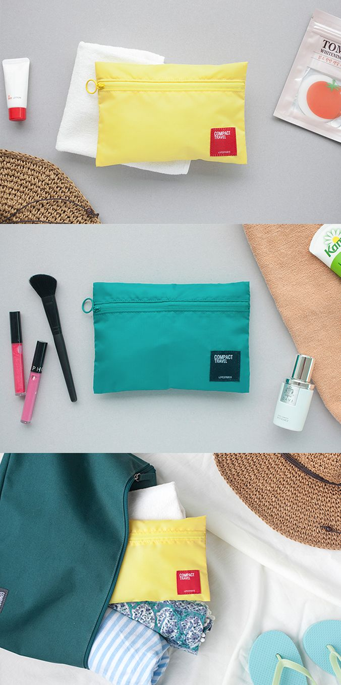 Small Travel Light Pouch is for small items such as chargers, USB cables, cosmetics, accessories, and phone may be easy to mixed up and lost in the travel! The small size pouch is perfect to keep the small items separately from other stuffs in the travel. The fabric of pouch is water resistant. It efficiently protects your items from wetness and dirt!