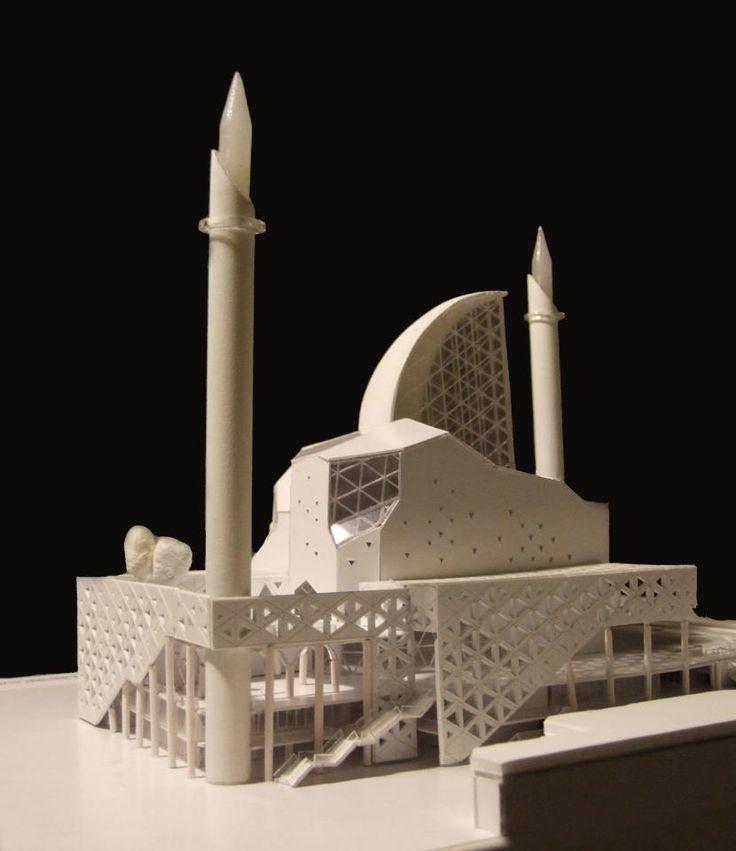 Rifat Alihodzic, Prishtina Central Mosque Competition Design, Prishtina, Kosovo, 2013