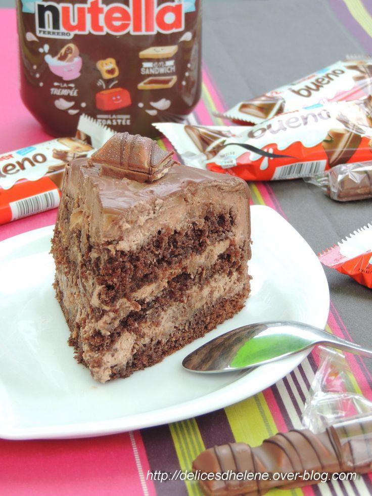 Ce que j'aime depuis que j'ai des enfants, c'est que les anniversaires, on les fête en double (même en triple l'année dernière car je ramenais un gâteau à l'école aussi pour l'occasion, mais pas cette année car elle a la chance de réaliser un gâteau avec...
