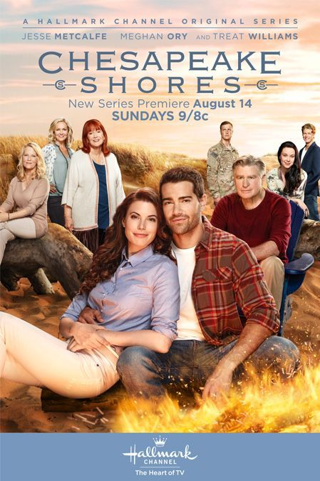 "Its a Wonderful Movie - Your Guide to Family Movies on TV: ""Chesapeake Shores"" - a Hallmark Channel TV Series starring Meghan Ory, Jesse Metcalfe, Diane Ladd, Barbara Niven, and Treat Williams"