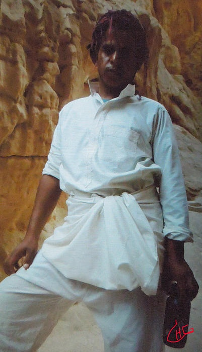 Pround Beduin in the Sinai Desert .Photograph Colette H Guggenheim