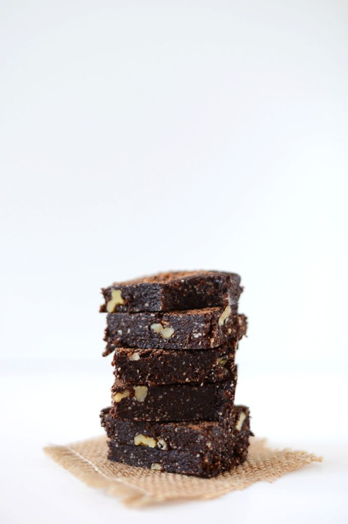 Minimalist Baker Raw Brownies