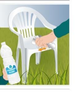 Как покрасить садовые стулья пластиковые