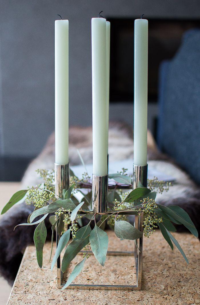 Koristellaan kyntteliköt / Skandilinjalla http://www.stoori.fi/skandilinjalla/koristellaan-kynttelikot/