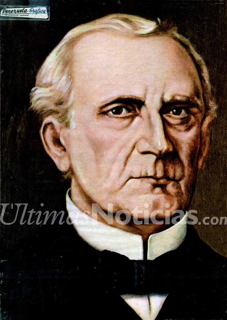 #Foto | En 1789, nació el militar y político venezolano Carlos Soublette, presidente de Venezuela entre 1843 y 1847. Foto: Archivo Fotográfico/GÚN