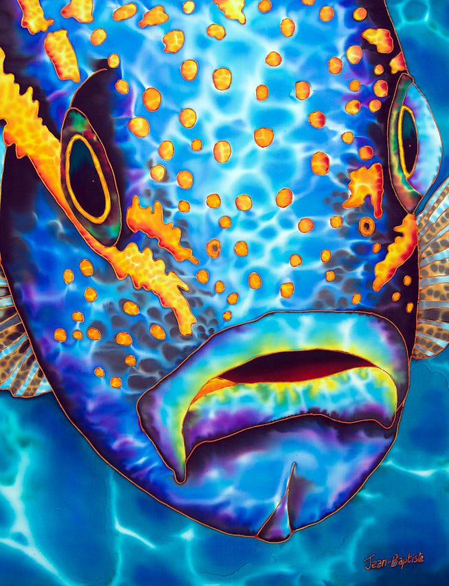 58 Best Tropical Fish Silk Painting Underwater Images On