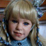 По документам эту малышку зовут Kati. Так ее назвал автор, расписана моя малышка Дианной Эффнер 14 января 2012 года, этот