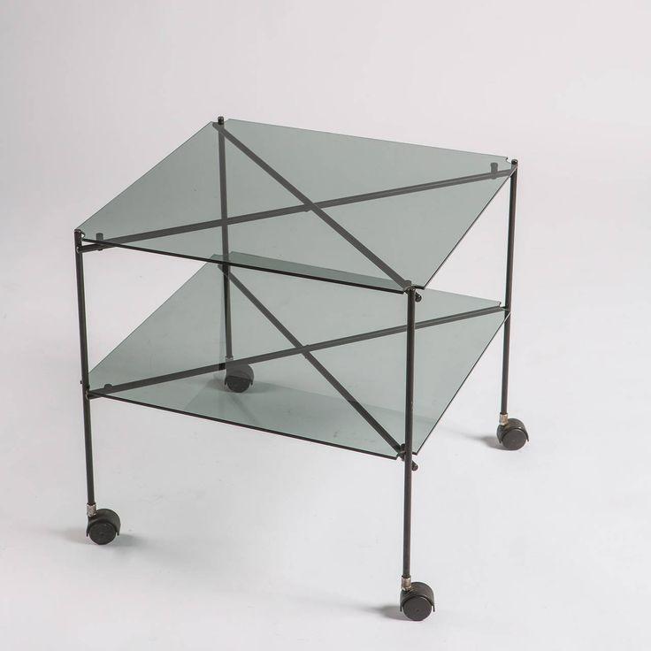"""""""Biplano"""" Cart by Bruno Munari for Robots - 1972"""