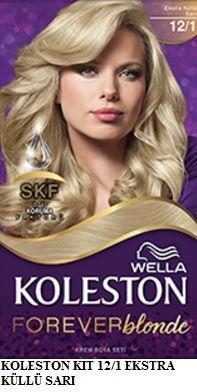 Koleston 2017 Saç Renk Kartelası - Koleston Ekstra küllü sarı saç rengi