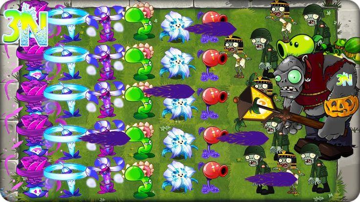 Plants vs. Zombies 2 | ATACANDO solo con PLANTAS que cuestan 25 y 50 SOL...