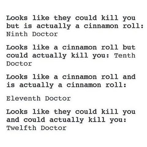 """Ah, I dunno, Twelve seems more fit for the """"looks like they could kill you but is actually a cinnamon roll"""" category"""