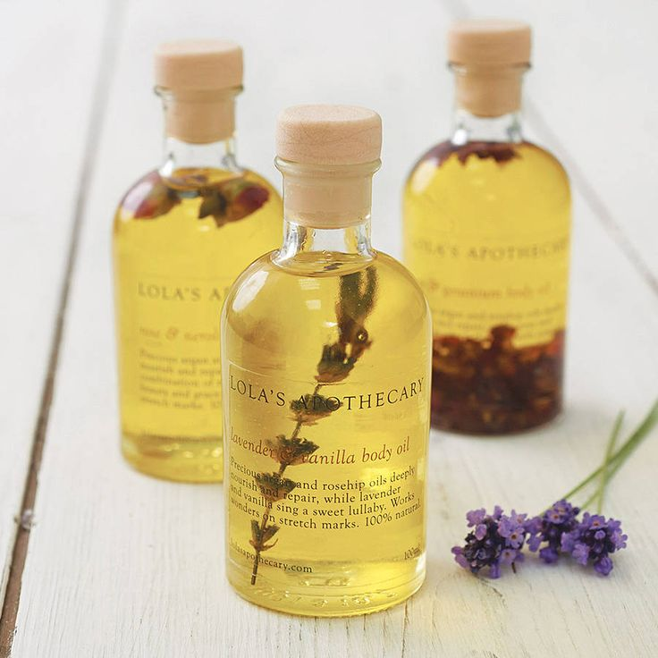 lavender and camomile bath oil by lola's apothecary | notonthehighstreet.com