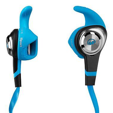 Monster Headphones   iSport Strive Blue
