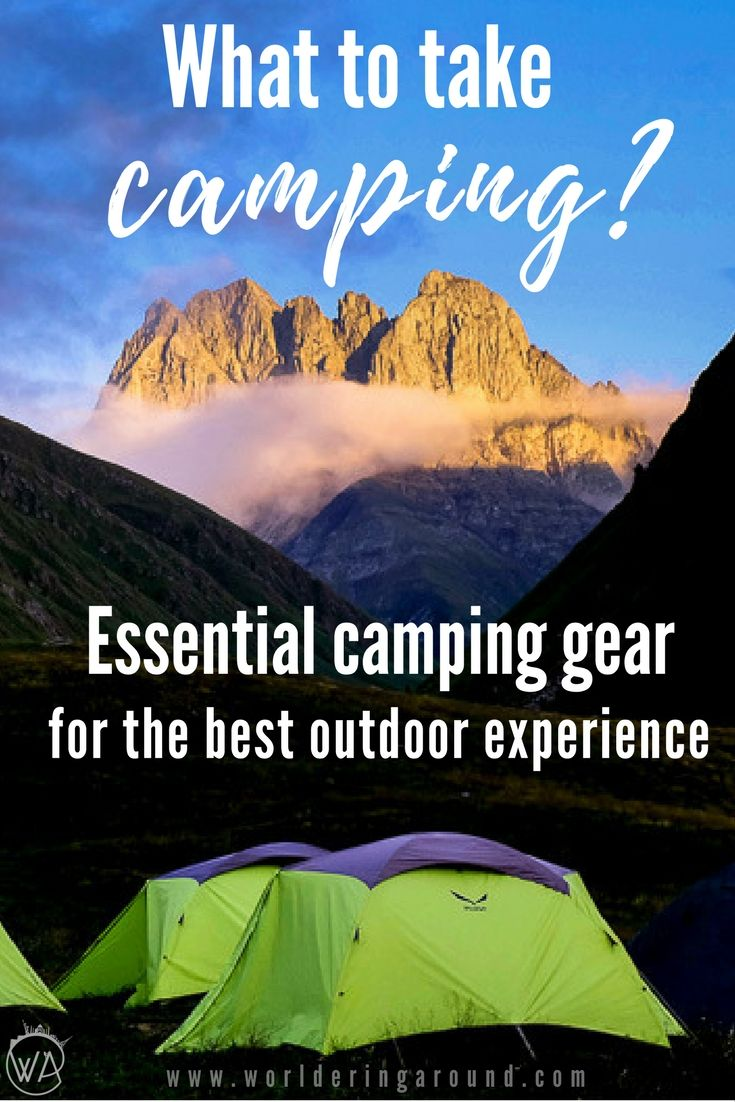 Camping and wild camping - what to pack camping, what to take camping, camping tips, wild camping tips, camping what to bring, essential camping gear to take camping and wild camping with you. Wild camping tips and essential camping gear guide, camping hacks, camping tips | Worldering around #camping