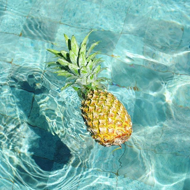 🍍 its all about the pineapples at Sunrise Gili Air 🍍 @sunrisegiliair…