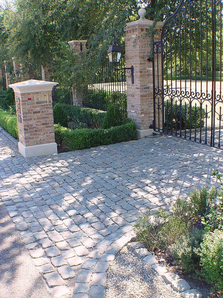 Farm Fence Gate Entrance