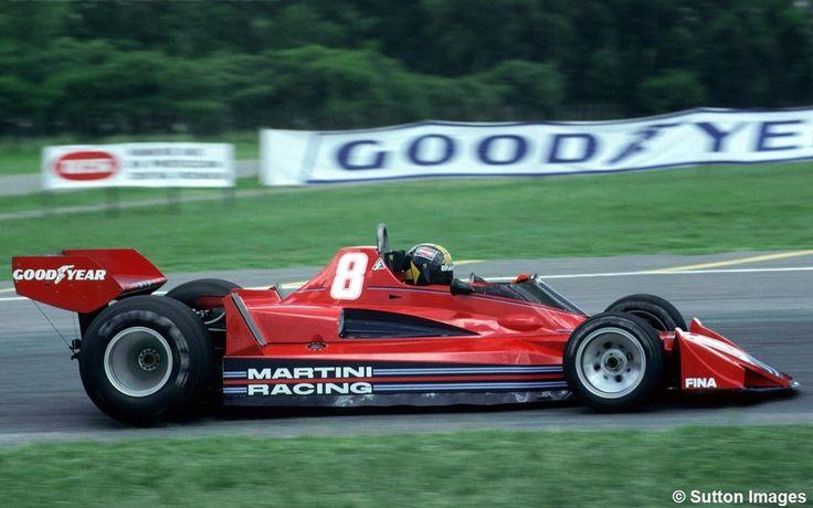 Carlos Ponce, Brabham BT45B - Alfa Romeo 115-12 3.0 F12. GP Argentina 1977.