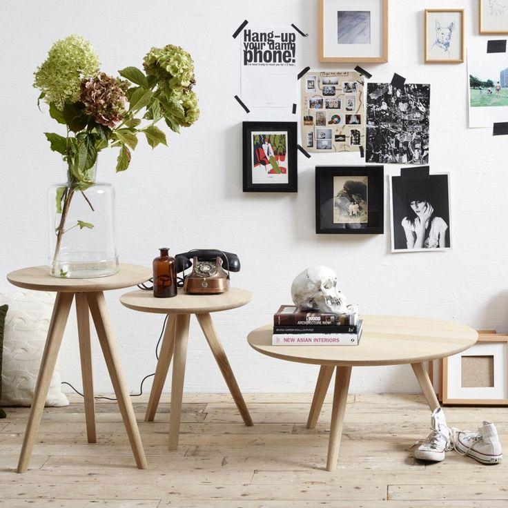 La table basse DAN de la marque VINCENT SHEPPARD se distingue par son charme naturel. Décoration et mobilier design à Paris. Colonel shop