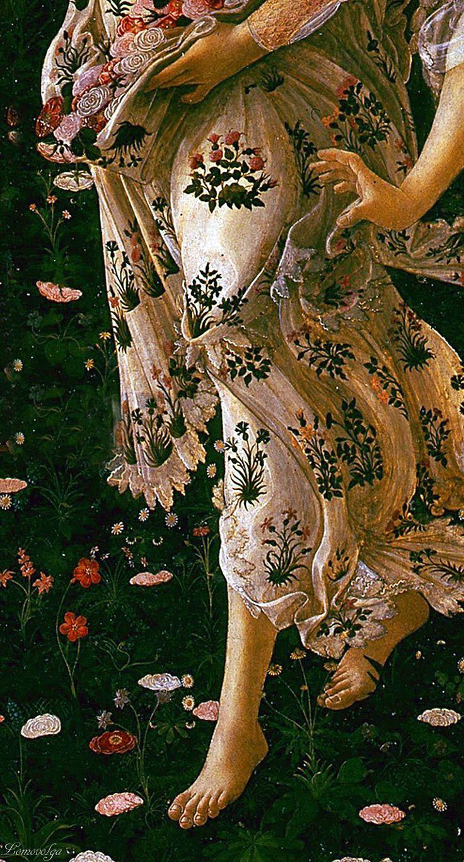 Sandro Botticelli, Primavera (detail)