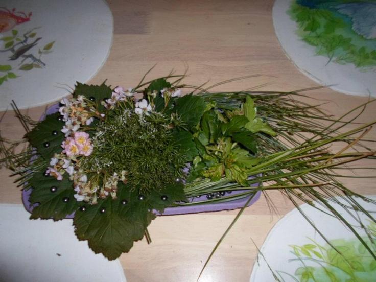 Flower decoration.