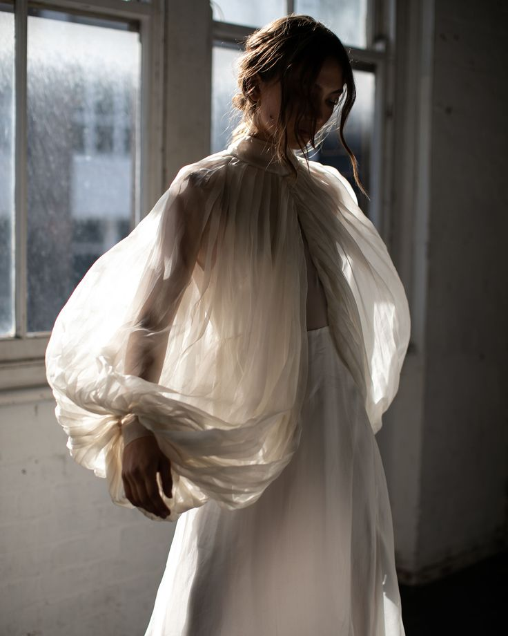 Leto Bridal Gown | Photographed by Megan Kelly | See more on The Lane…