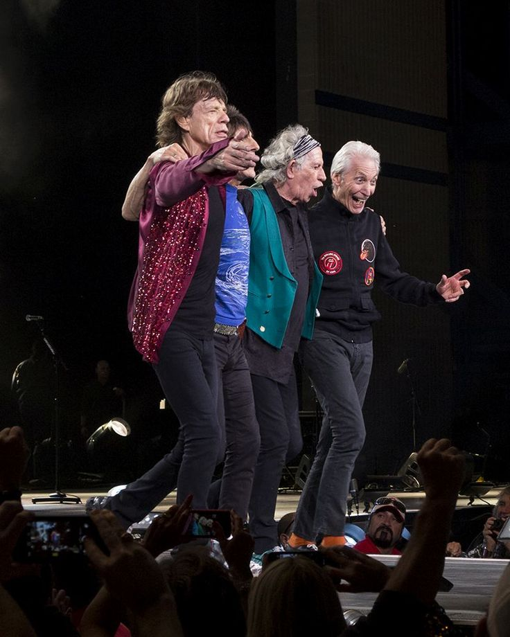 The Rolling Stones live at Marcus Amphitheater - Summerfest, Milwaukee, WI, USA, June 23, 2015, still rocking!