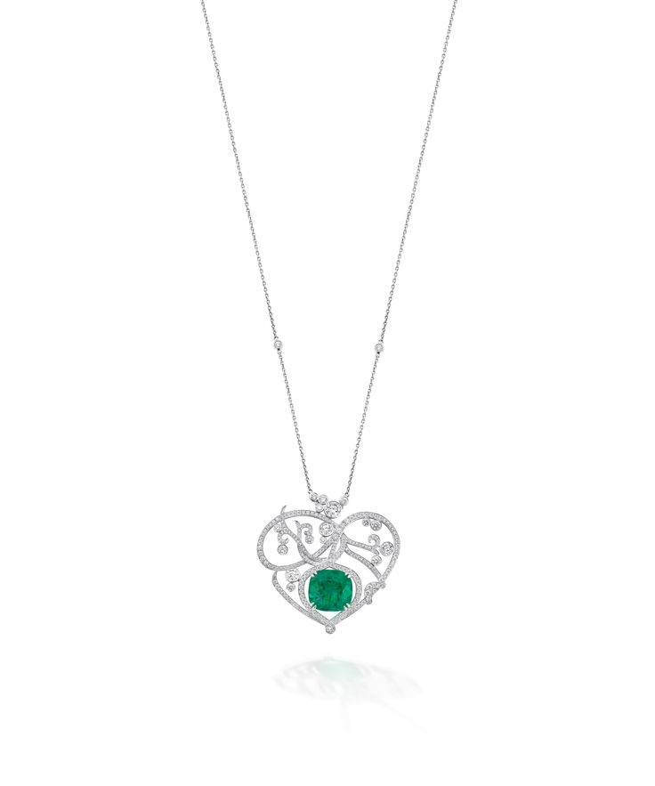 The Greenfire Collection is made with the finest emeralds from Colombia's legendary Muzo mine. The flame-like luminescence within the emeralds is complemented by the swirling tendrils of the platinum and diamond settings to hint at the natural harmony between the elements: earth and fire. http://www.boodles.com/high-jewellery